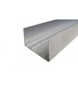 УВ 100 4м (0,55мм) ПРЕМИУМ направляющий стеновой профиль