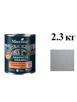 грунт-эмаль антикор 2,3кг Серебристая