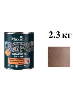 грунт-эмаль антикор 2,3кг Шоколадная