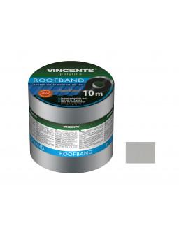 Лента уплотнительная Vincents Roofband 15см х 10м алюминий