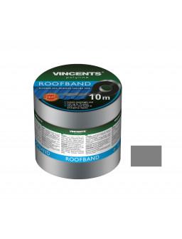 Лента уплотнительная Vincents Roofband 7,5 см х 10м серый