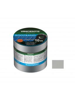 Лента уплотнительная Vincents Roofband 10см х 10м алюминий