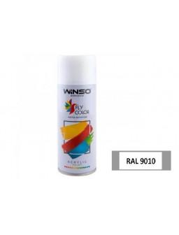 Краска акр. 450мл. Белый глянец SPRAY (RAL9010)