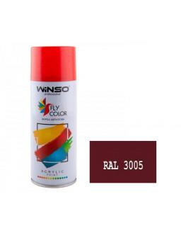Краска акр. 450мл. Вишневый SPRAY (RAL3005)