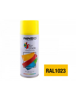 Краска акр. 450мл. Желтый SPRAY (RAL1023)