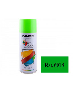 Краска акр. 450мл. салатово-зеленый SPRAY (RAL6018)