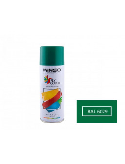 Краска акр. 450мл. Светло-зеленый SPRAY (RAL6029)