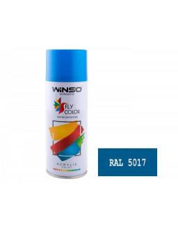 Краска акр. 450мл. Синий SPRAY (RAL5017)