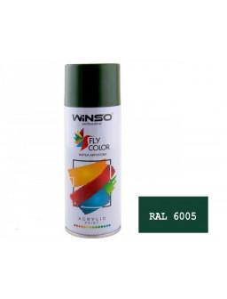 Краска акр. 450мл. Темно-зеленый SPRAY (RAL6005)