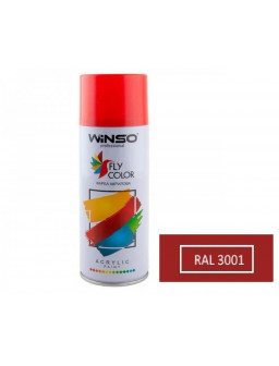 Краска акр. 450мл. Красный SPRAY (RAL3001)