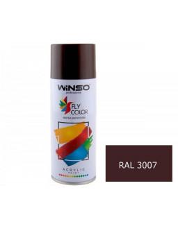 Краска акр. 450мл. Коричневый SPRAY (RAL3007)