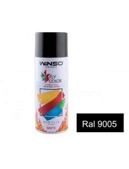 Краска акр. 450мл. высокотемп. 600С Черный SPRAY (RAL9005)