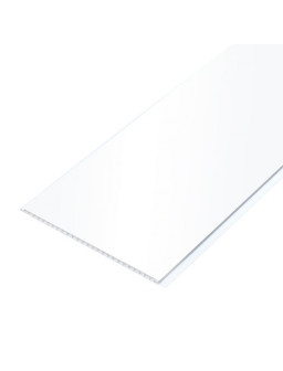 Панель ПВХ Белый лак 250 * 7 * 3000мм