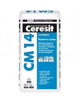 СМ 14 клей для плитки Церезит 25кг