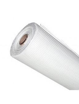 сетка малярная стекловолокно белая 2,5 * 2,5 мм 1 * 50м рулон