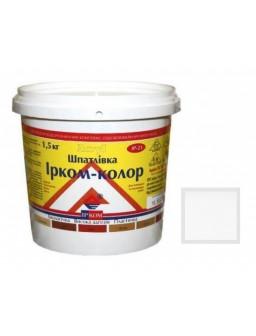 шпаклевка акриловая 1,5кг белая Ирком