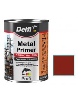 грунт по металлу ПФ-010М 0,9кг красно-кор
