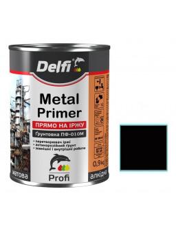 грунт по металлу ПФ-010М 0,9кг черный