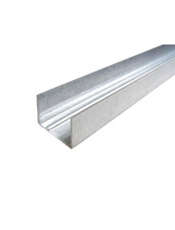 УД 27 4м (0,42мм) Направляющий профиль для гипсокартона