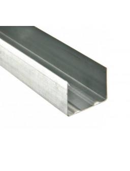 УВ 50 3м (0,42мм) направляющий стеновой профиль