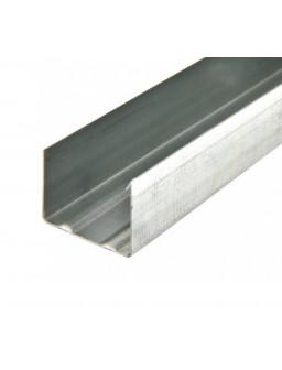 УВ 75 3м (0,42мм) направляющий стеновой профиль