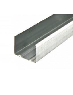 УВ 100 3м (0,42мм) направляющий стеновой профиль