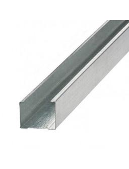 СВ 50 3м (0,42мм) Оцинкованный стоечный стеновой профиль