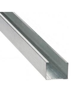СВ 50 4м (0,42мм) Оцинкованный стоечный стеновой профиль