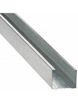 СВ 75 4м (0,42мм) Оцинкованный стоечный стеновой профиль