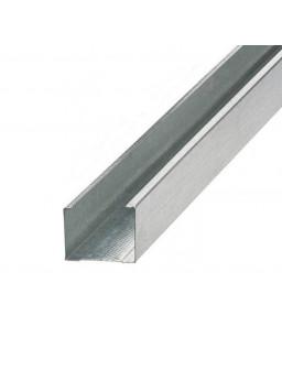 СВ 100 3м (0,42мм) Оцинкованный стоечный стеновой профиль