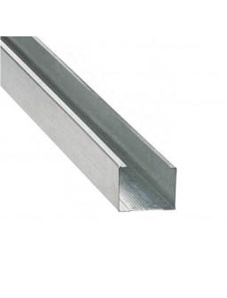 СВ 100 4м (0,42мм) Оцинкованный стоечный стеновой профиль