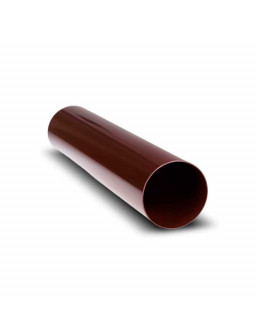 Водосточная труба Д100мм * 4м коричневая