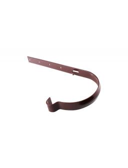 Держатель желоба металлический коричневый