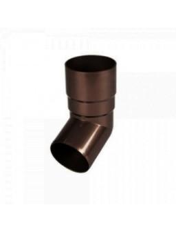 Колено водосточной трубы 100 * 60 коричневый