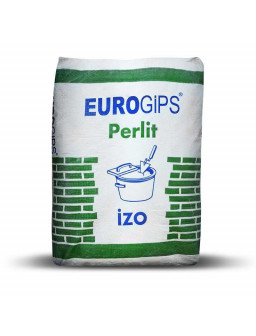 Изо Евро 25кг Шпаклевка EUROGIPS Perlit IZO гипсо-перлитовая