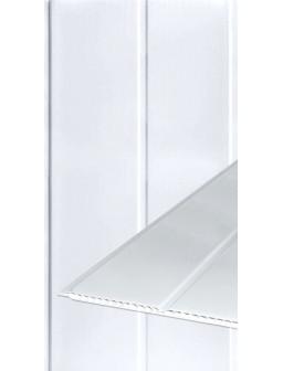 Вагонка ПВХ 200мм*6м*8мм Біла Матова Подвійна