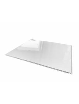 Вагонка ПВХ  375мм*6м*8мм Білий глянець