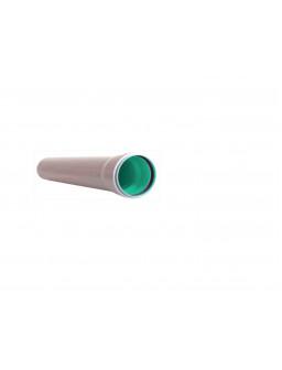 труба 50*500мм зелёная