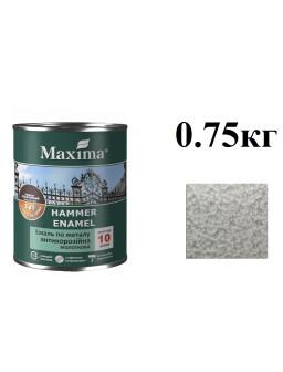 емаль-молотк. 0,75кг серебристая