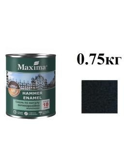 емаль-молотк. 0,75кг черная