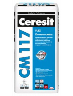 СМ 117 клей для плитки Церезит 25кг