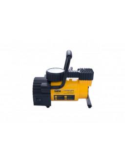 Компрессор автомобильный Сила - 7атм x 35 л/мин с фонариком