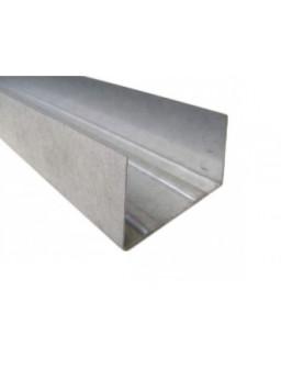 УВ 75 3м (0,55мм) ПРЕМИУМ направляющий стеновой профиль
