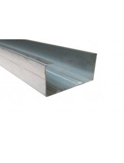 СВ 100 3м (0,55мм) ПРЕМИУМ Оцинкованный стоечный стеновой профиль