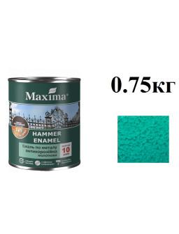 эмаль молотк. 0,75кг зелена