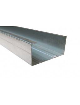 СВ 50 3м (0,55мм) ПРЕМИУМ Оцинкованный стоечный стеновой профиль