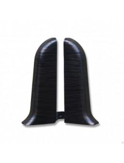 заглушка-пара 67мм венге темный