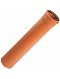 труба 110*2000мм оранжевая