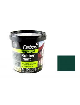 Краска резиновая зеленая 3,5кг.