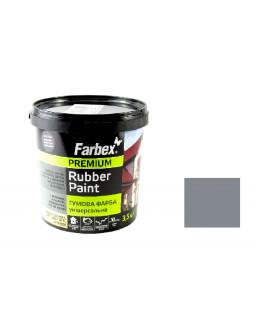 Краска резиновая серая 3,5кг.